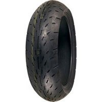 Racing Slick Belted Tire - Shinko 003 Stealth Radial Rear Motorcycle Tire 180/55-17 XF87-4007U