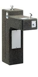 (Sierra ADA Dual Outdoor Drinking Fountain)