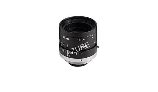 5-Megapixel Rated Azure Photonics AZURE-2514M5M 2//3 25mm F1.4 Manual Iris C-Mount Lens