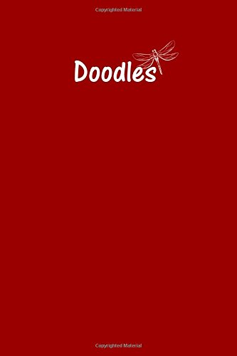 Read Online Doodle Journal - Great for Sketching, Doodling, Project Planning or Brainstorming: Medium Ruled, Soft Cover, 6 x 9 Journal, Brick Red, 200 Undated Pages pdf epub
