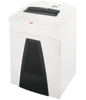 HSM Securio P44c L4 Micro-Cut Shredder Shreds up to 30 sheets 55-gallon capacity