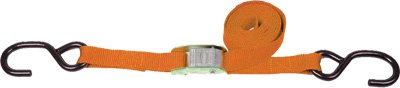 WPS Western Power Sports 1in. Tiedowns - Orange
