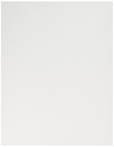 Exact Index Smooth, 8.5 X 11 inch, White Heavyweight Cardstock Paper - 140lb Index- 250 Sheets/pack