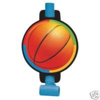 Basketball 8 Count Blowouts (Michael Jordan Party Supplies)