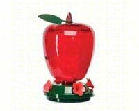 Audubon  Plastic Apple Hummingbird Feeder,  40 oz.   Model - Feeder Apple