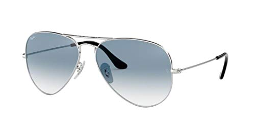 Ray Ban RB3025 003/3F 55M Silver/ Light Blue Gradient ()