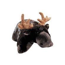 """Pillow Pets Brown Pillow Pet- PeeWee Moose - 11"""""""