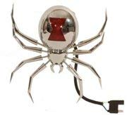 Hitch Critter Black Widow Receiver Cover and Brake Light By ()