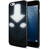 Avatar The Last Airbender State Glow for Iphone and Samsung Galaxy (iPhone 6/6s black) (Avatar Phone Case Galaxy S3)
