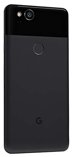 Pixel 2 Phone (2017) by Google, G011A 64GB 5in inch Factory Unlocked Android 4G/LTE Smartphone (Just Black) - International Version (Renewed)