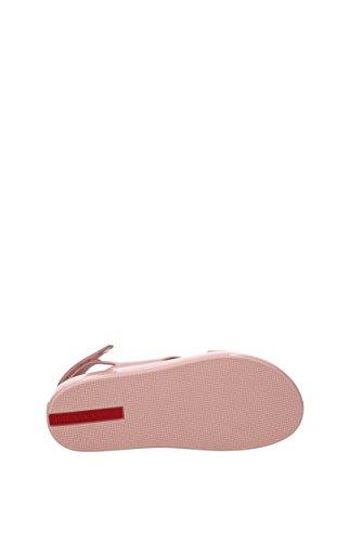 Femme Sandales Prada Eu Rose Verni Cuir 3x6291 61wqa0Z