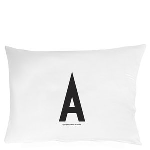 Design Letters Pillowcase: DESIGN LETTERS PILLOWCASE   70X50 CM   A  Amazon co uk  Kitchen & Home,