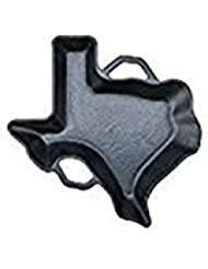 Cocinaware Pre-seasoned Cast Iron Texas Shaped Pan