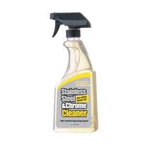 Stainless Steel And Chrome Cleaner With Degreasing Agents