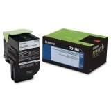 Lexmark 70C1HK0 Black High Yield Return Program Toner