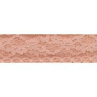 "Wrights Flexi-Lace Hem Tape 305 1234 Sweet Peach .75"" 3 Yards"