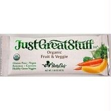 Betty Lous Fruit and Veggie Bar, 1.5 Ounce - 12 per pack -- 1 each. by Betty Lou's
