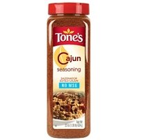 Tones Cajun Seasoning - 22 oz. shaker (Pepper Seasoning Tones Garlic)