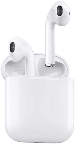 Auricular Bluetooth 5.0, Auricular inalámbrico, micrófono y Caja de Carga incorporados, reducción del Ruido estéreo 3D HD, para Auriculares Apple Airpods Android/iPhone/Samsung
