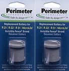 Invisible Fence Compatible R21, R51 and Microlite Dog Collar Battery 2PK by Pet Stop by Pet Stop