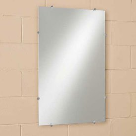 See All Frameless Flat Mirror - 16X22""