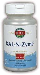 Kal Kal-n-Zyme Tablets, 100 Count