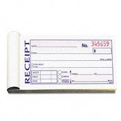 (Money/Rent Receipt Book 2-Part Carbonless 2-3/4)