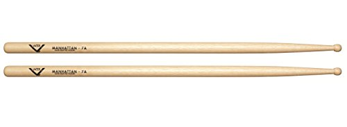 Vater 7A Wood Tip Hickory Drum Sticks, Pair