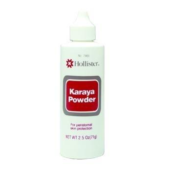 HOLLISTER Karaya Barrier Powder Karaya 2-1/2 oz. Puff Bottle (#7905, Sold Per - Powder Karaya Bottle Puff