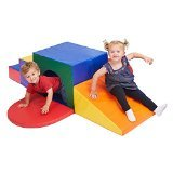 ECR4Kids SoftZone Single Tunnel Maze Foam Play Climber
