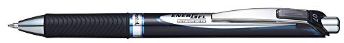 (Pentel EnerGel PRO Permanent Gel Pen, (0.7mm) Medium Line, Blue Ink, Box of 12 Pens (BLP77-C))
