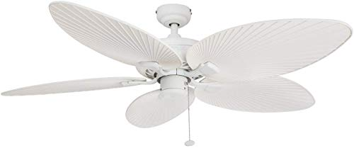 White Ceil Fan - 9