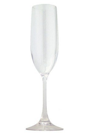 LeadingWare Clear 6 Ounces Unbreakable Bpa-free Tritan Plastic Champagne Flutes (Each) - Acrylic Stemware