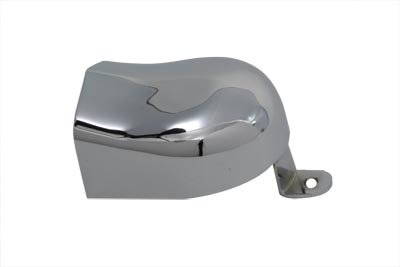 V-Twin 42-0052 Horn Cover With Tab Chrome