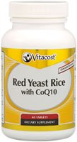 Vitacost Red Yeast Rice 1200 Mg With Coq10   Extended Release    60 Tablets