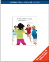 Social and Personality Development International Student Edition 6th Edition David R. Shaffer