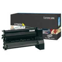 - Lexmark C7702YH High Yield - yellow - original - toner cartridge LCCP - for C770dn, 770dtn, 770n, 772, 772dn, 772dtn, 772n; X772e, 772es