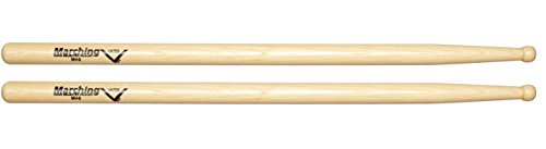 Vater MV2 Marching Drum Sticks with Round Tip, Pair