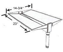 Cast Aluminum Drip Tray - Phoenix by Modernhome (Image #1)