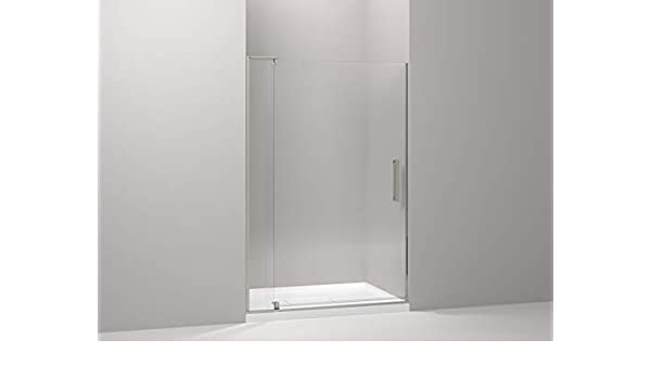 Revel Pivot para mampara de ducha acabado: níquel cepillado anodizado: Amazon.es: Hogar