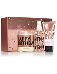 Gift Birthday Happy Set (Bath and Body Works Gift Set