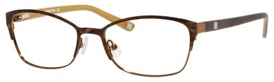 LIZ CLAIBORNE Eyeglasses 605 0Dc7 Demi Brown 53MM