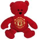 Manchester United FC - Licensed Beanie Bear, Ships from USA