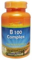 海外直送品 Thompson B100 コンプレックスタイムリリース 60粒 ドラッグストア|||栄養補助食品|||サプリメント・ビタミン|||ビタミン|||ビタミンB|||B1