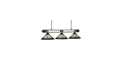 54 Inch Winslow 3 Bulb Billiard Lamp
