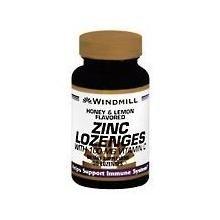 ZINC LOZ W/VIT C 100MG H/L WML 50