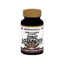ZINC LOZ W/VIT C 100MG H/L WML 50 by Windmill (Lozenges Vitamins Windmill)