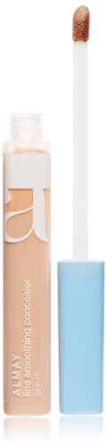 Almay Line Smoothing Concealer with SPF 10, Light 100, 0.18 Ounce Package