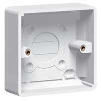 Legrand Synergy - 7364 06 - Moulded Surface Mounted 1 Gang 35mm Deep Box