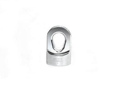 (Tactical Recovery Equipment Silver Safety Thimble I)